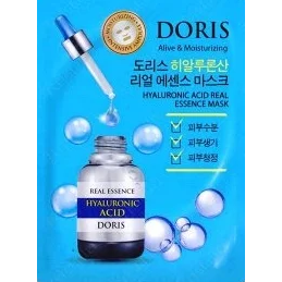 Маска для лица ампульная JIGOTT DORIS с гиалуроновой кислотой Hyaluronic Acid Real Essence Mask, 25 мл.